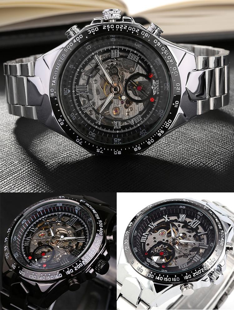 Automatické mechanické hodinky sa naťahujú prirodzeným pohybom ruky vďaka  pohyblivému kyvadielku. Pokiaľ ich dlhšie nepoužívate 9db500ca12a