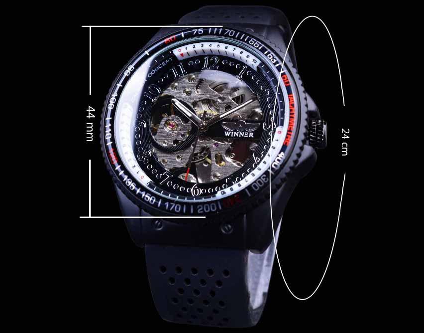 HTB1BYFgPXXXXXbdXpXXq6xXFXXXq. Automatické mechanické hodinky sa naťahujú  prirodzeným pohybom ruky vďaka pohyblivému kyvadielku. 53a1104b306